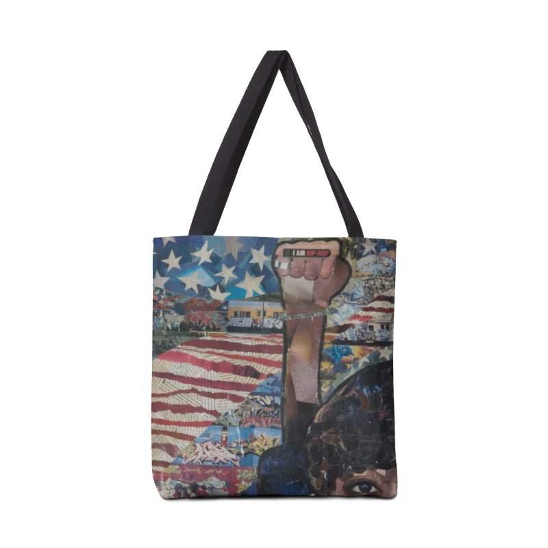 I am Hip Hop in Tote Bag by Amanda Seales