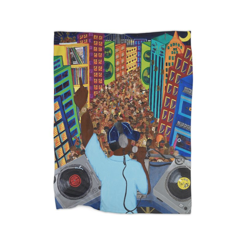 Sound City Home Fleece Blanket Blanket by Amanda Seales
