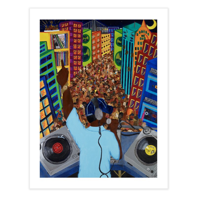 Sound City Home Fine Art Print by amandaseales's Artist Shop