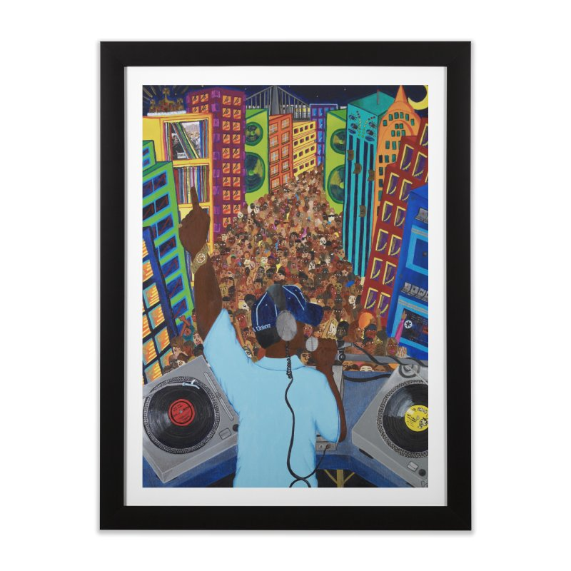Sound City Home Framed Fine Art Print by Amanda Seales