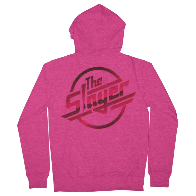 Once More With Slaying Women's Zip-Up Hoody by AMODesign's Artist Shop