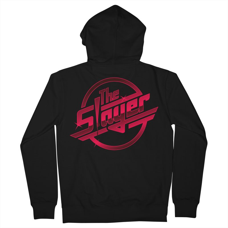 Once More With Slaying Men's Zip-Up Hoody by AMODesign's Artist Shop
