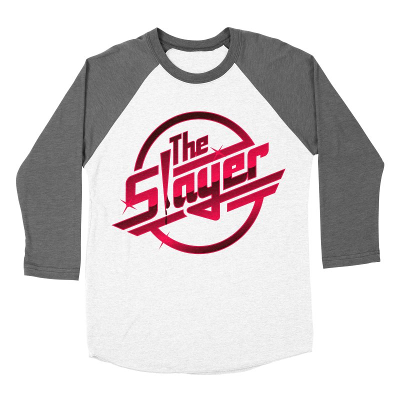 Once More With Slaying Men's Baseball Triblend T-Shirt by AMODesign's Artist Shop