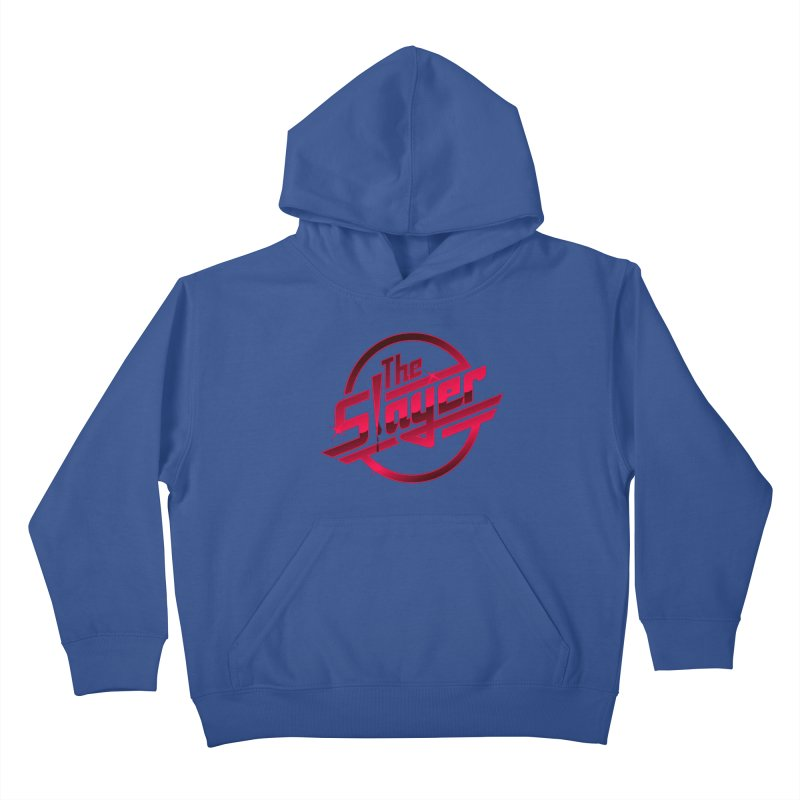 Once More With Slaying Kids Pullover Hoody by AMODesign's Artist Shop