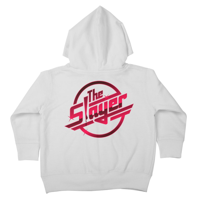 Once More With Slaying Kids Toddler Zip-Up Hoody by AMODesign's Artist Shop