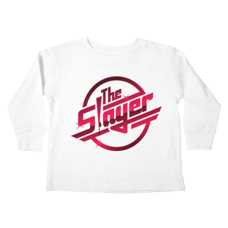 Once More With Slaying Kids Toddler Longsleeve T-Shirt by AMODesign's Artist Shop