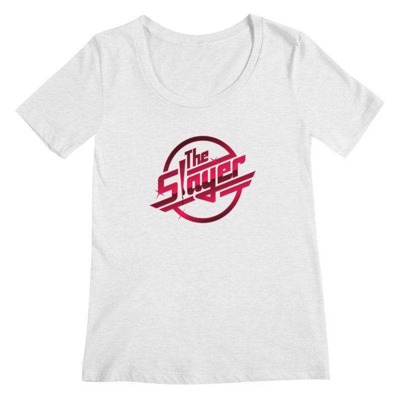 Once More With Slaying Women's Scoopneck by AMODesign's Artist Shop