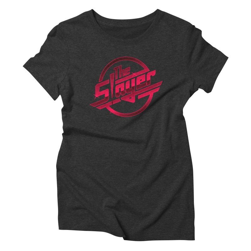 Once More With Slaying Women's Triblend T-shirt by AMODesign's Artist Shop