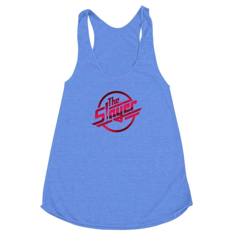 Once More With Slaying Women's Racerback Triblend Tank by AMODesign's Artist Shop
