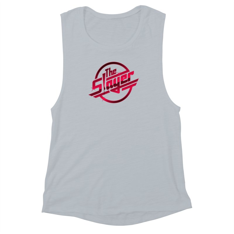Once More With Slaying Women's Muscle Tank by AMODesign's Artist Shop