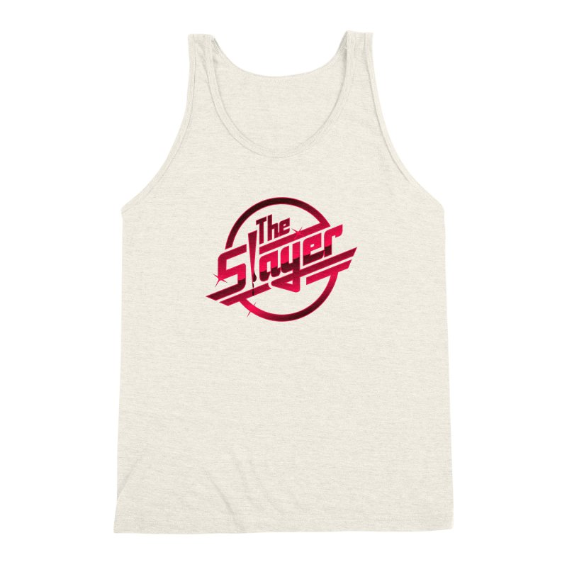 Once More With Slaying Men's Triblend Tank by AMODesign's Artist Shop