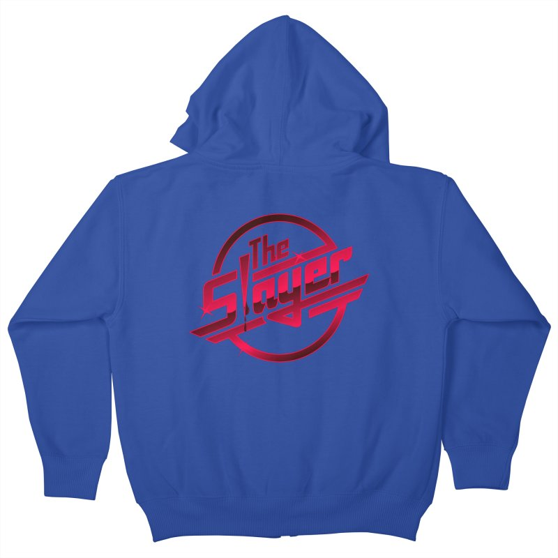 Once More With Slaying Kids Zip-Up Hoody by AMODesign's Artist Shop