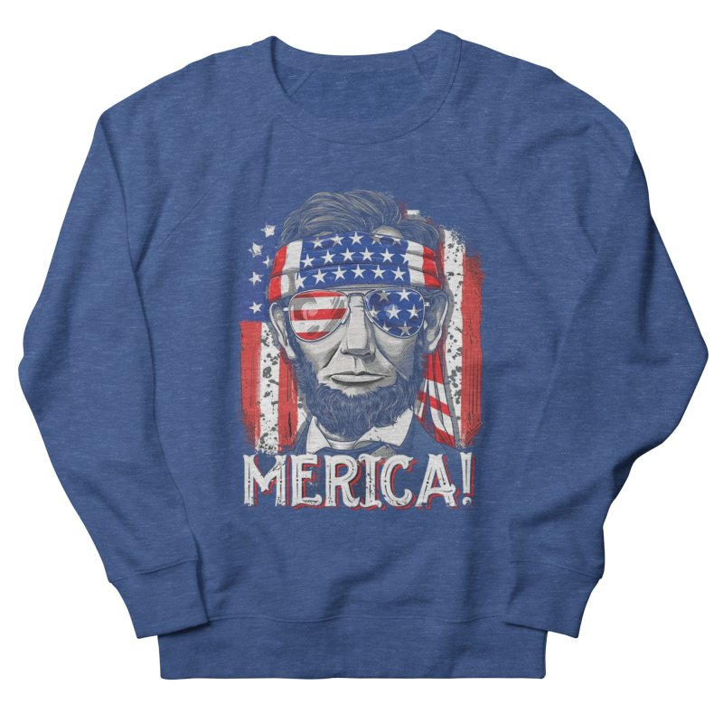 6687b5687 Merica Abe Lincoln T shirt 4th of July American Flag Murica Men's  Sweatshirt by amazing2018's Artist