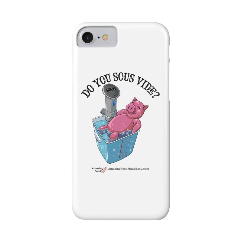 Do You Sous Vide Pig Light Accessories Phone Case by Amazing Food Made Easy Boutique