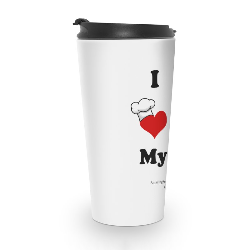 I Love My Sous Vide Black Accessories Travel Mug by Amazing Food Made Easy Boutique