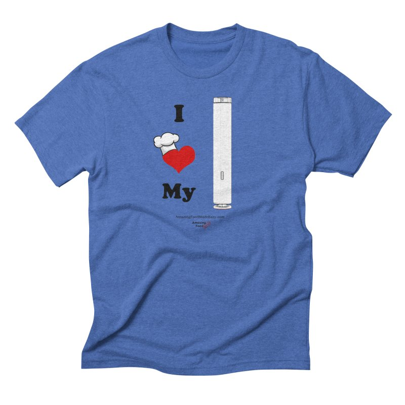 I Love My Sous Vide White Men's T-Shirt by Amazing Food Made Easy Boutique