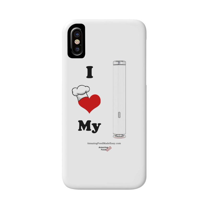 I Love My Sous Vide White Accessories Phone Case by Amazing Food Made Easy Boutique