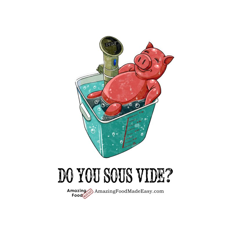 Do You Sous Vide Pig Vintage Light by Amazing Food Made Easy Boutique