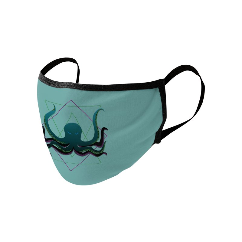 Soul Eater Octopus Accessories Face Mask by ambersphere's artist shop