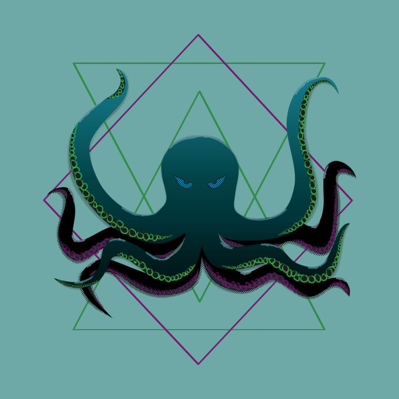 Soul Eater Octopus Women's T-Shirt by ambersphere's artist shop