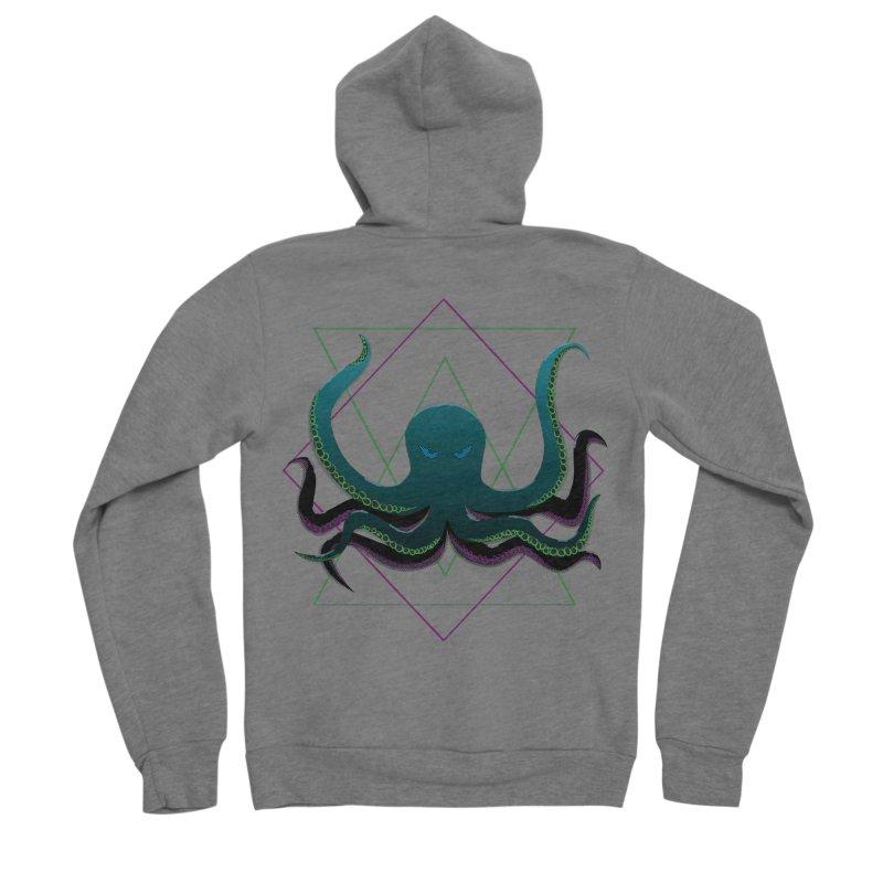 Soul Eater Octopus Women's Zip-Up Hoody by ambersphere's artist shop