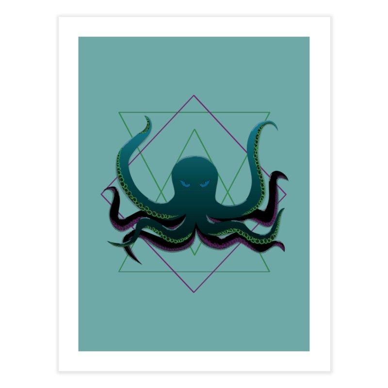 Soul Eater Octopus Home Fine Art Print by ambersphere's artist shop