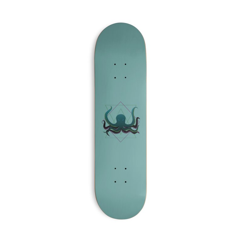 Soul Eater Octopus Accessories Skateboard by ambersphere's artist shop