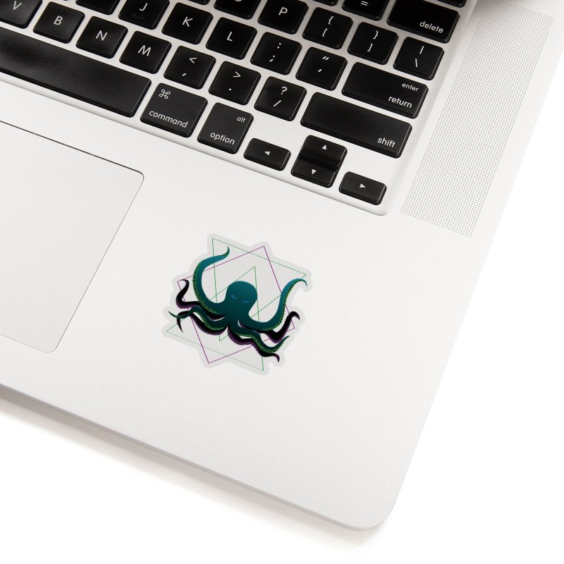 Soul Eater Octopus Accessories Sticker by ambersphere's artist shop