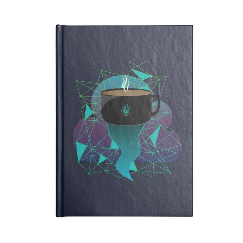 Coffee Energy - Lightning Accessories Notebook by ambersphere's artist shop
