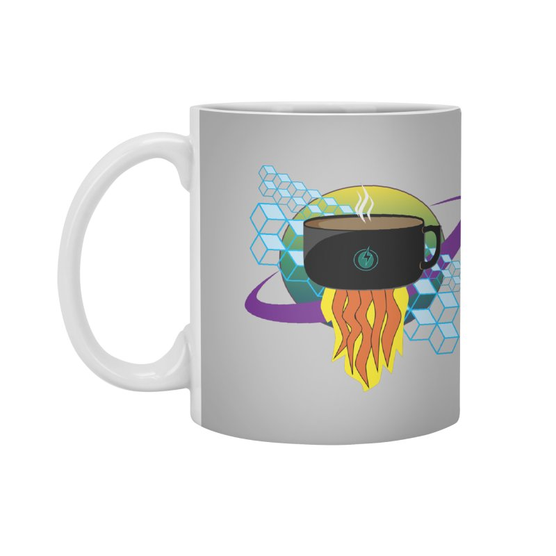 Coffee Energy - Rocket Fuel Accessories Mug by ambersphere's artist shop