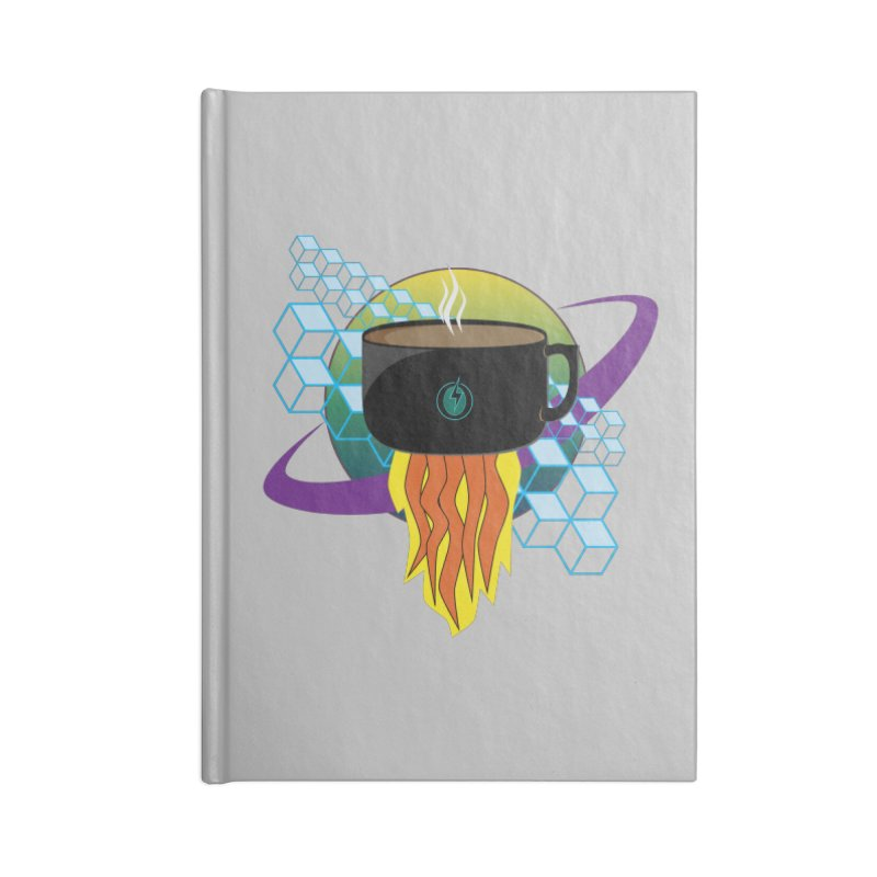 Coffee Energy - Rocket Fuel Accessories Notebook by ambersphere's artist shop