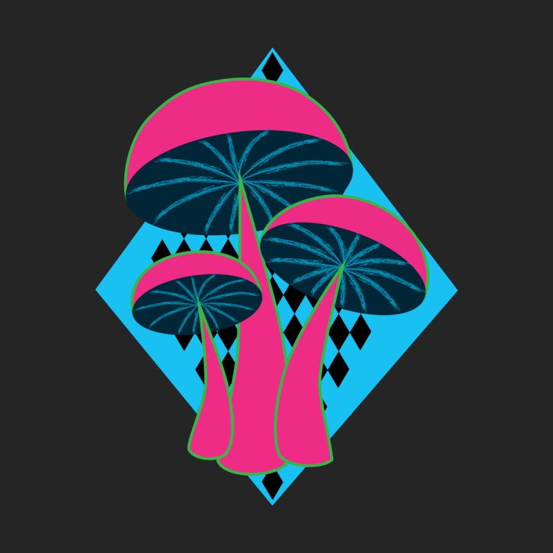Radical Mushrooms Women's T-Shirt by ambersphere's artist shop