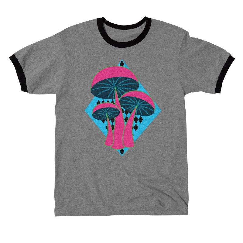 Radical Mushrooms Women's T-Shirt by ambersphere's artist shop