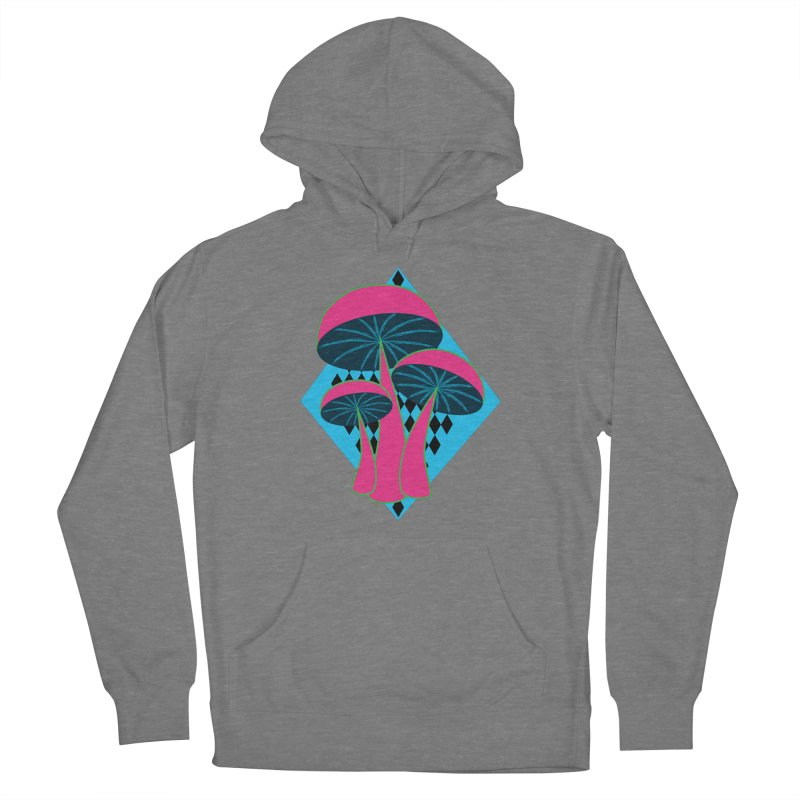 Radical Mushrooms Women's Pullover Hoody by ambersphere's artist shop