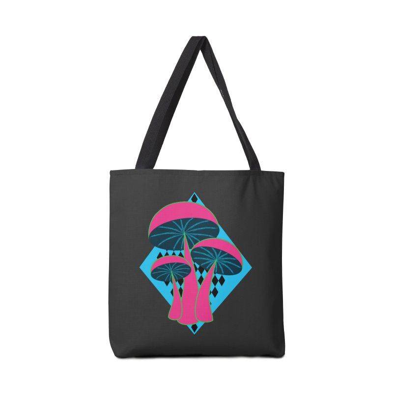 Radical Mushrooms Accessories Bag by ambersphere's artist shop