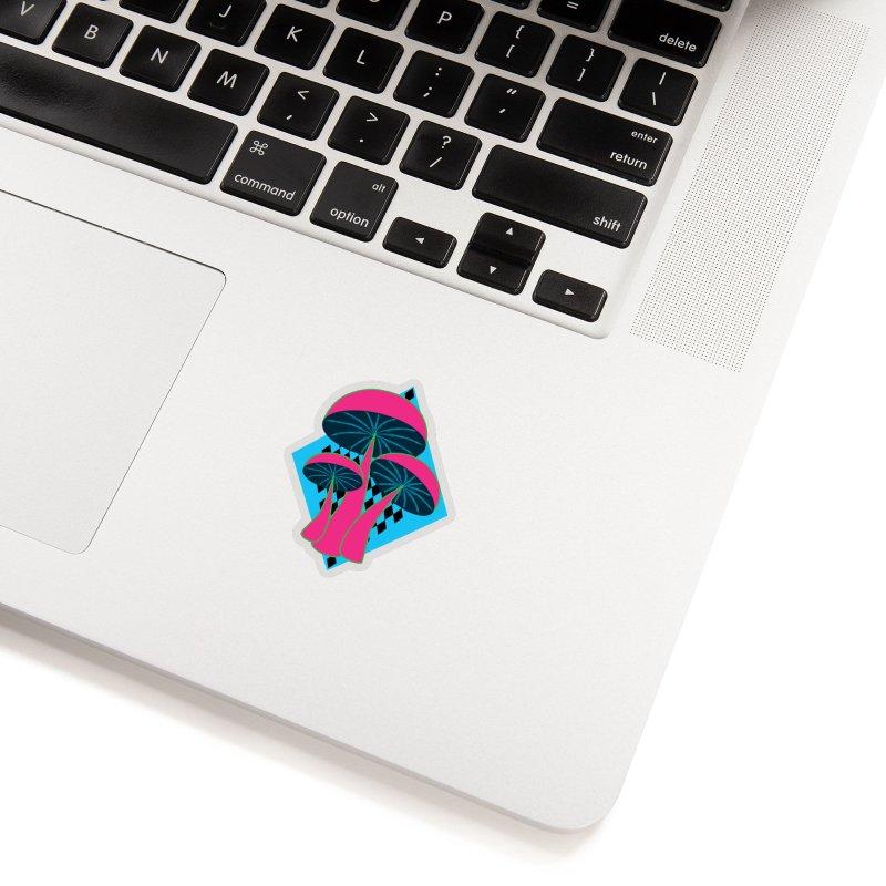 Radical Mushrooms Accessories Sticker by ambersphere's artist shop