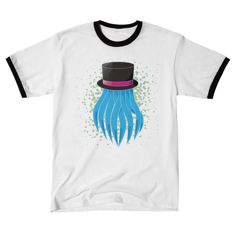 Fancy Polygon Tentacles Men's T-Shirt by ambersphere's artist shop