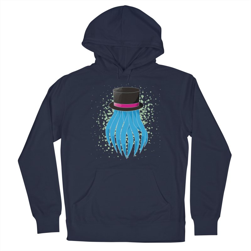 Fancy Polygon Tentacles Men's Pullover Hoody by ambersphere's artist shop
