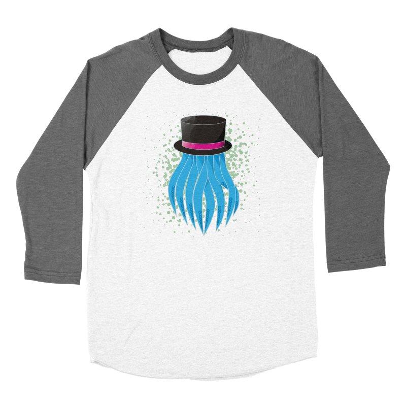 Fancy Polygon Tentacles Women's Longsleeve T-Shirt by ambersphere's artist shop