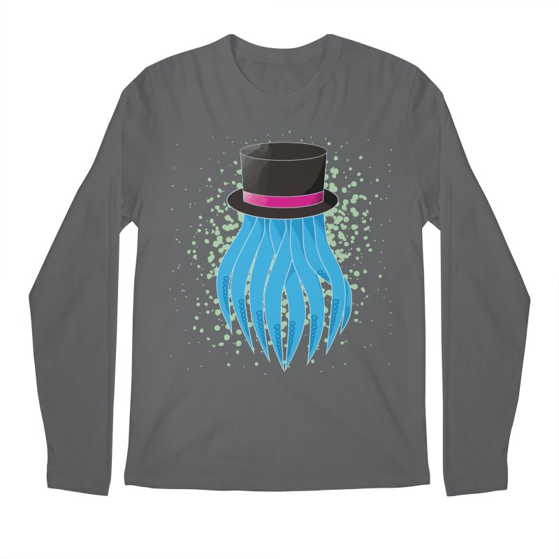 Fancy Polygon Tentacles Men's Longsleeve T-Shirt by ambersphere's artist shop