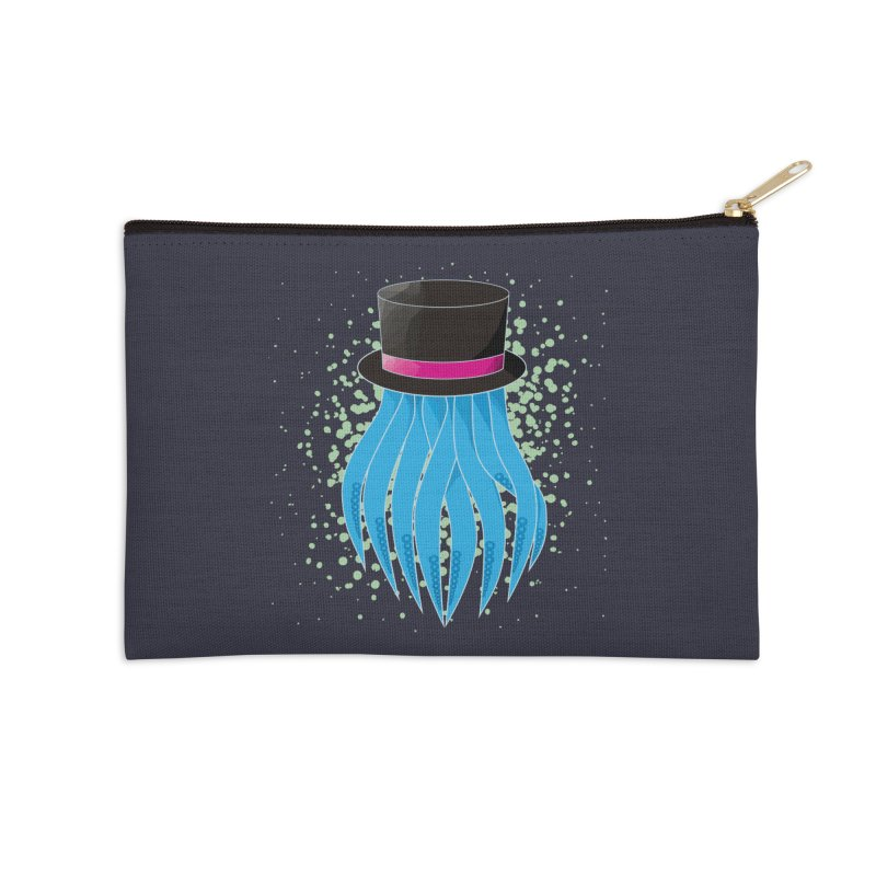 Fancy Polygon Tentacles Accessories Zip Pouch by ambersphere's artist shop