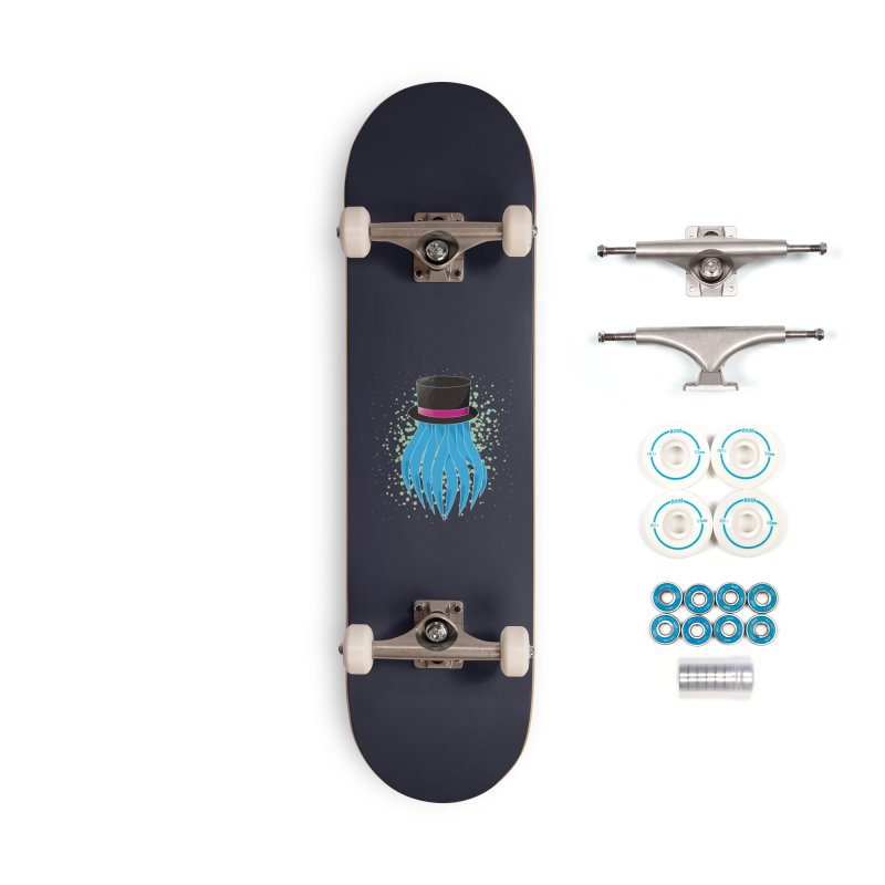 Fancy Polygon Tentacles Accessories Skateboard by ambersphere's artist shop