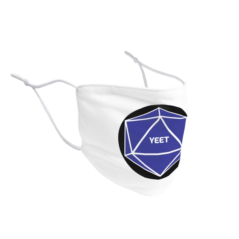 Magic D20 Says Yeet Accessories Face Mask by ambersphere's artist shop