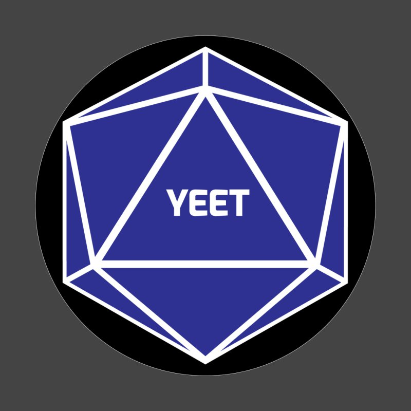 Magic D20 Says Yeet Accessories Notebook by ambersphere's artist shop