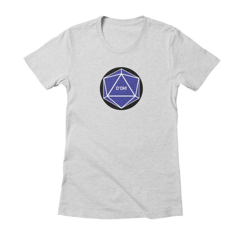D'Oh! Magic D20 Women's T-Shirt by ambersphere's artist shop