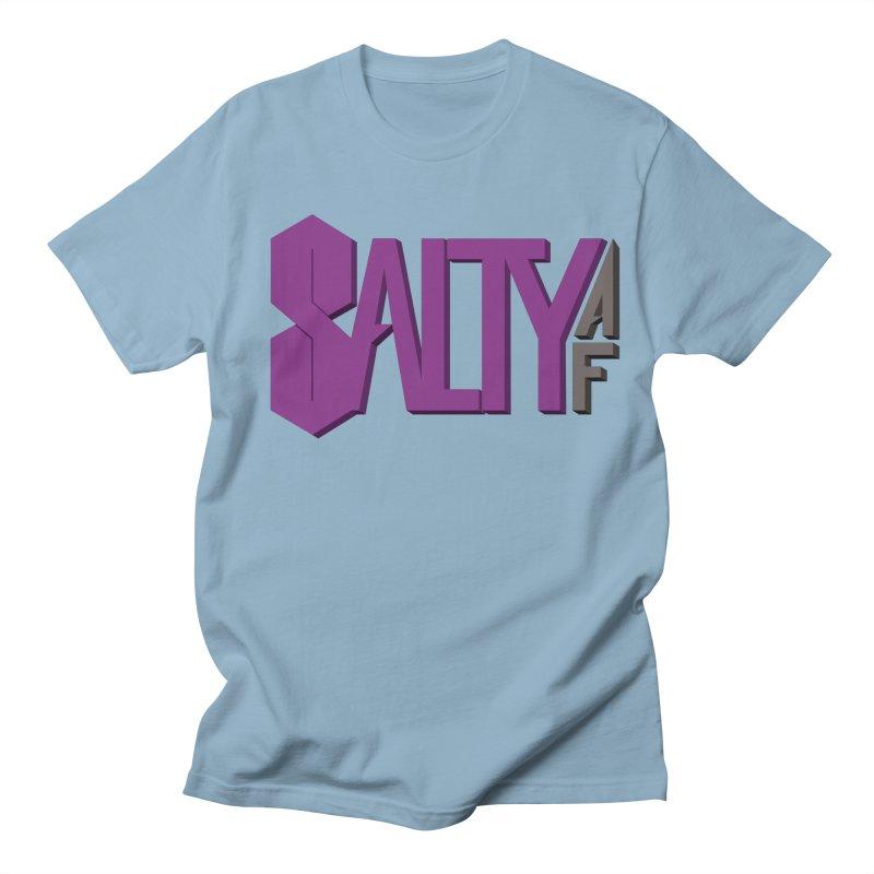 Feeling Salty AF Men's T-Shirt by ambersphere's artist shop