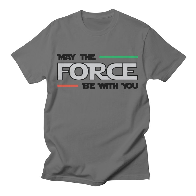 May The Force Be With You Men's T-Shirt by ambersphere's artist shop
