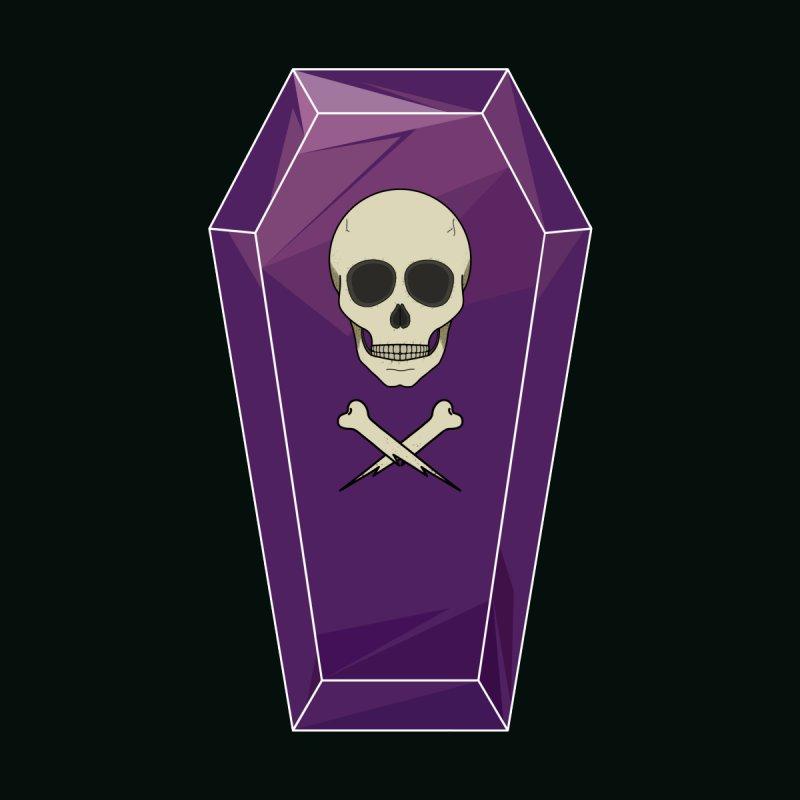 Amethyst Coffin Women's T-Shirt by ambersphere's artist shop