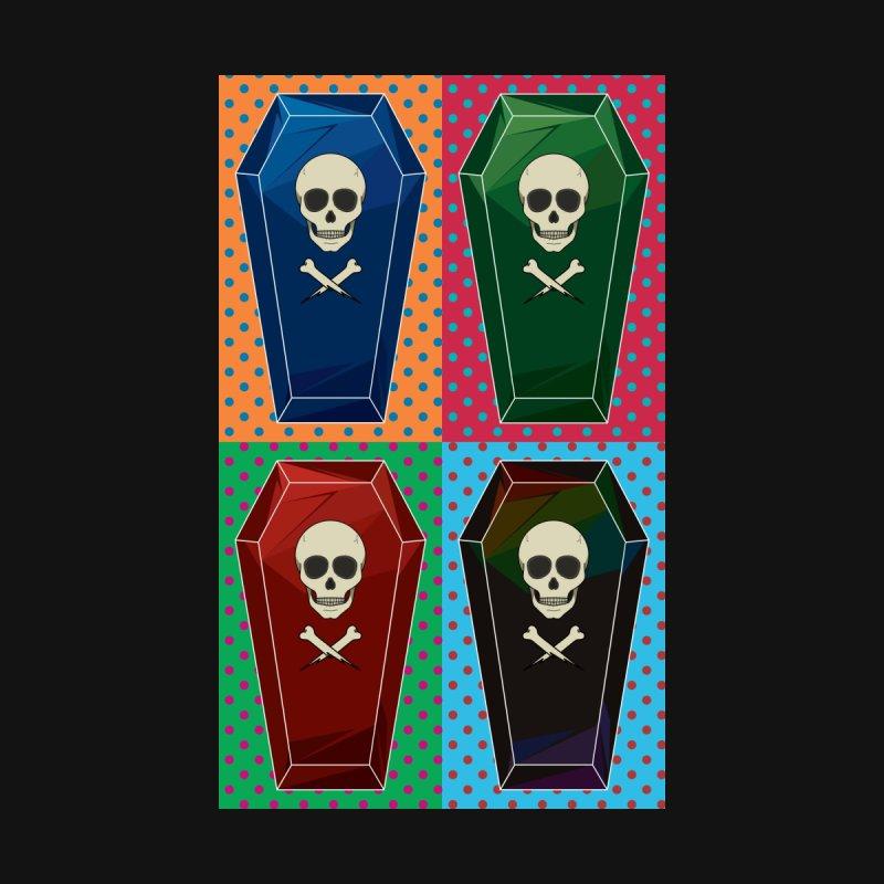 Pop Art Coffin Women's T-Shirt by ambersphere's artist shop