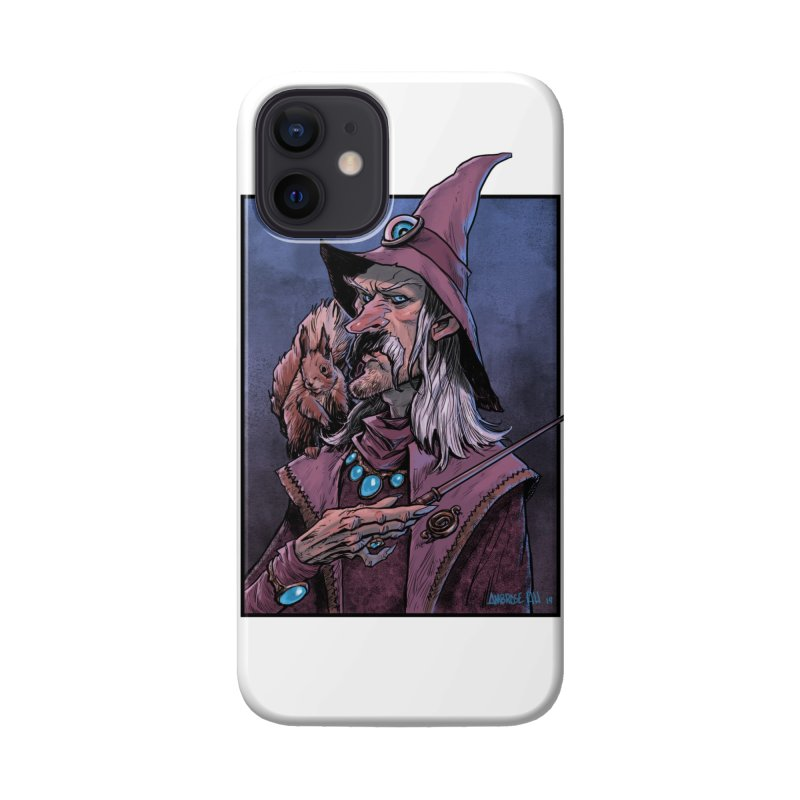 Wizard with Squirrel Accessories Phone Case by Ambrose H.H.'s Artist Shop